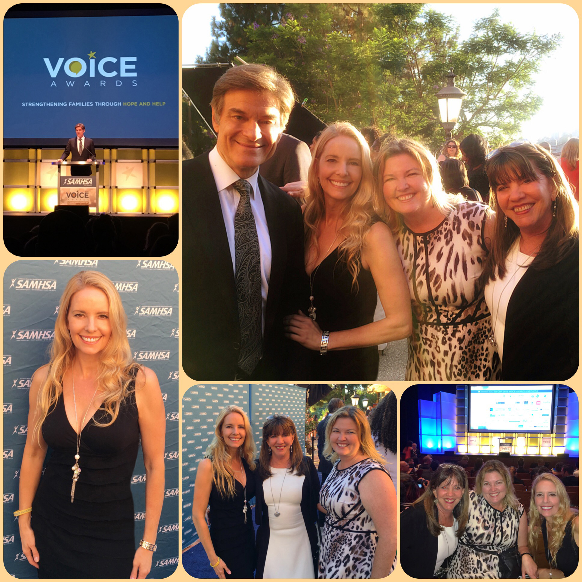 VOICE AWARDS with Dr. Oz