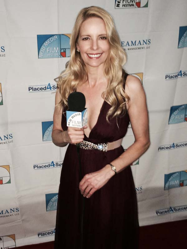 Red Carpet Host at New Media Film Festival