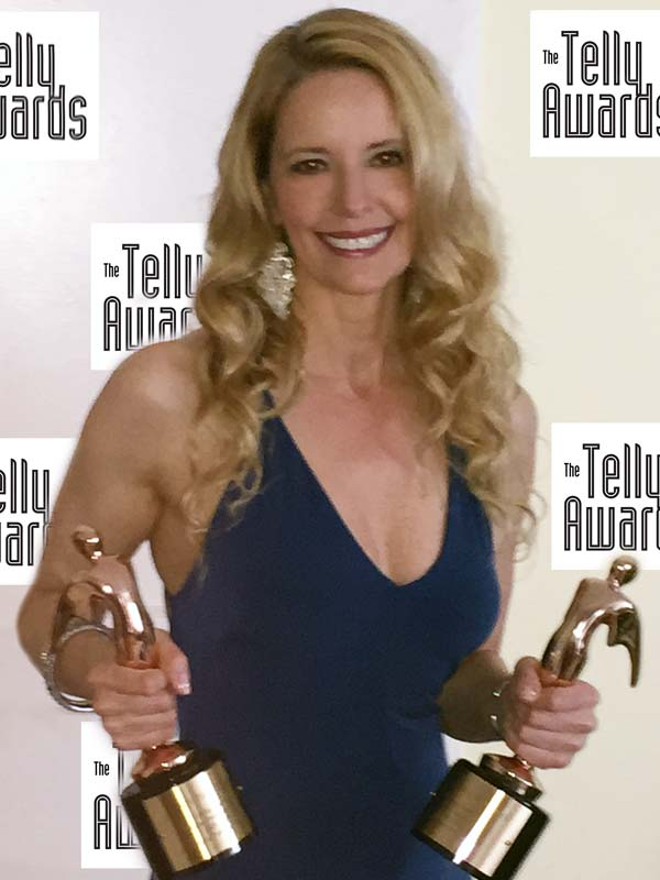 3x Telly Award Winner