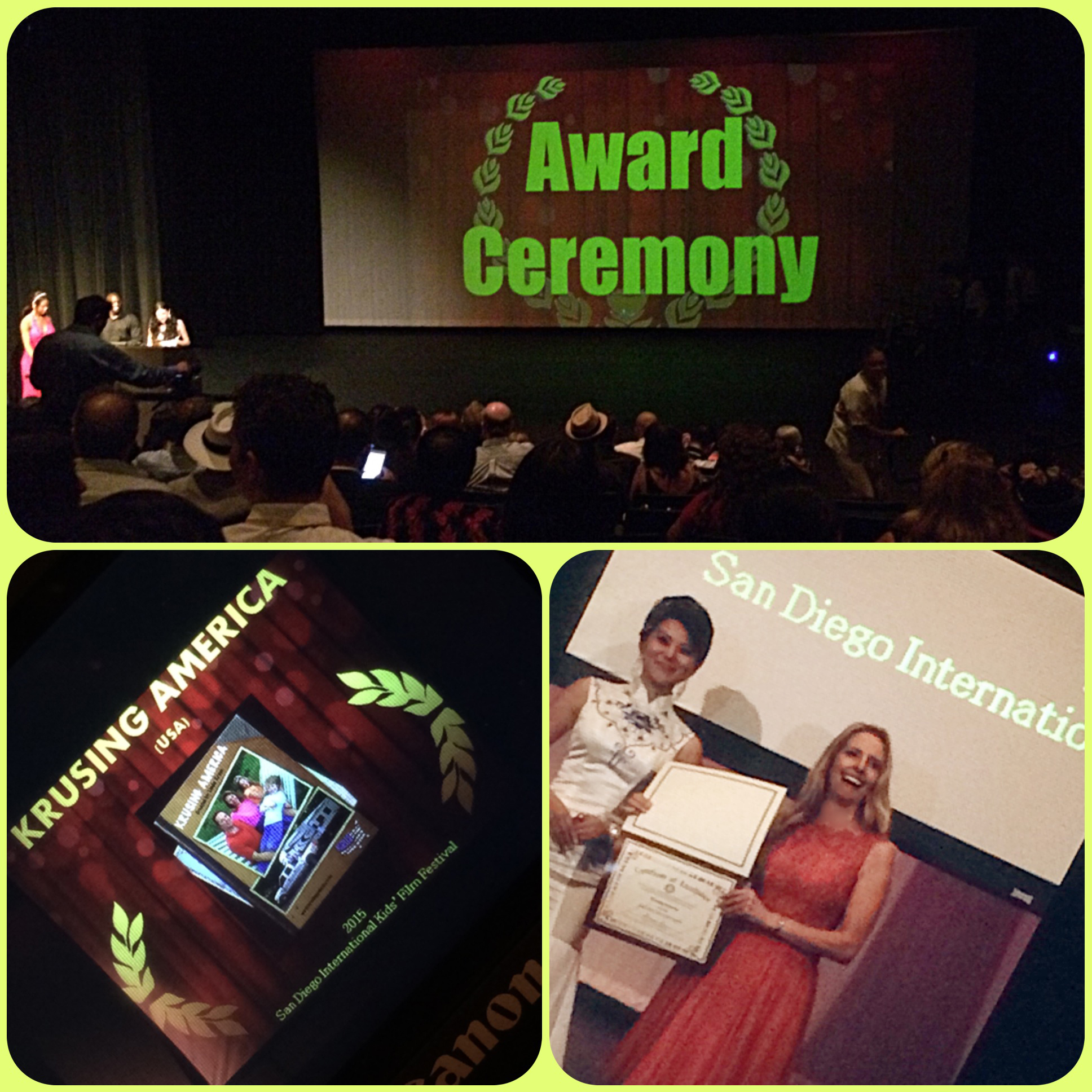 Award Ceremony for SDIKFF